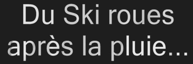 SkiPluie