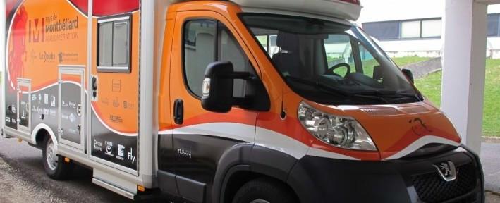 Camion Atelier pour le CC-Etupe