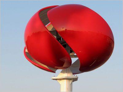 Des mini oliennes fran aises au design personnalisable technologie s - Mini eolienne verticale ...