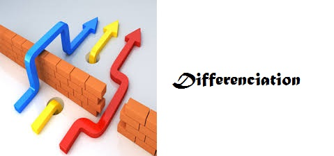 Différenciation et numérique