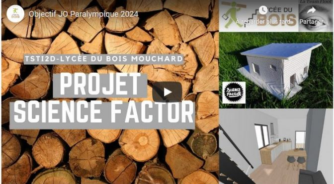 Concours Science Factor – La Team Floot